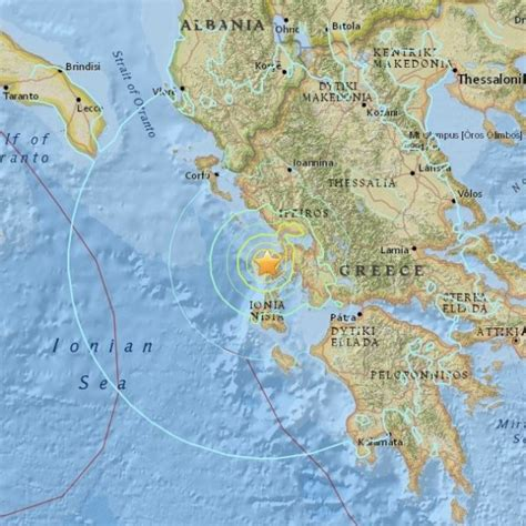 earthquake greece 6 5 magnitude earthquake in greece earth earthsky