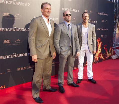 film van jason statham action veterans ooze masculinity at expendables 2 madrid