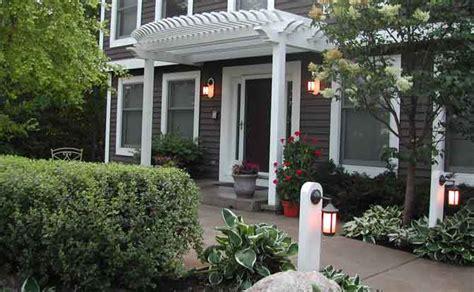 Front Door Arbor by Front Entry Arbor Courtyard Design Niwa Design Studio Ltd