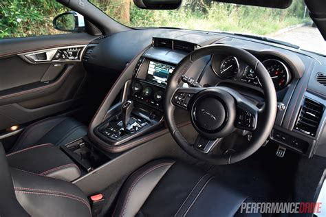 Jaguar F Type R Interior by 2016 Jaguar F Type R Awd Review Performancedrive