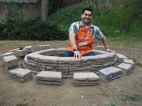 how to make a fire pit in your backyard decoration how to build your own fire pit how to build your own fire pit round fire