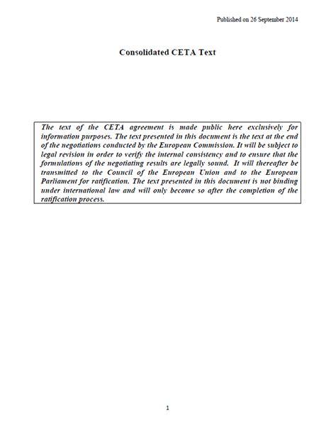 Ceta Document