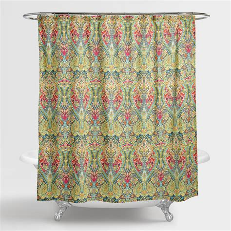 shower curtain drapes alessia shower curtain world market