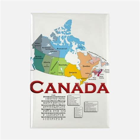 magnetic canada canadian magnets canadian refrigerator magnets cafepress