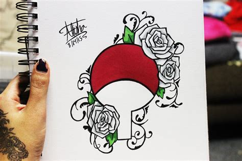 naruto tattoo design by alishaart on deviantart