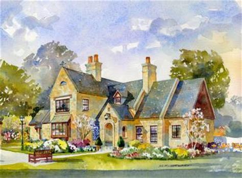 flint cottage southern living house plans new south classics english cottage classics