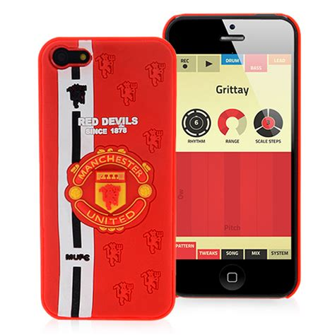 Manchester United Club L0667 Iphone 7 isupport football football rumours iphone 5