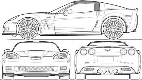 white house blueprint download free blueprint for 3d automobile blueprints car blueprints chevrolet corvette