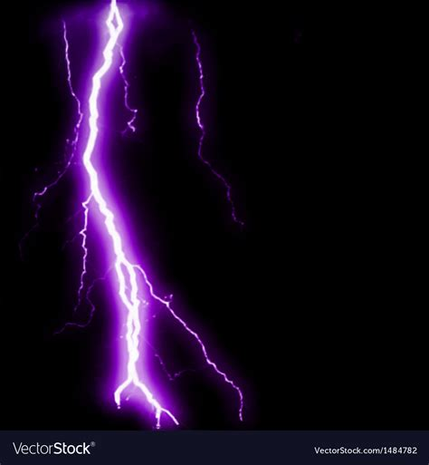 what color is electricity abstract purple lightning flash background vector image