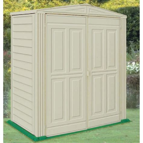 duramax 174 5x3 yardsaver vinyl shed with floor 130912