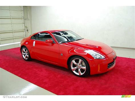 red nissan 350z 2008 nogaro red nissan 350z enthusiast coupe 9107791