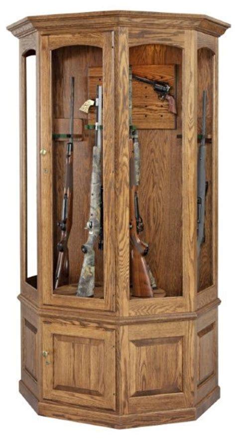 Solid Wood Gun Cabinet by Oak Gun Cabinet Plans Woodworking Projects Plans