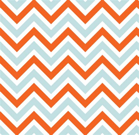 Orange Chevron chevrons stripes blue orange free stock photo