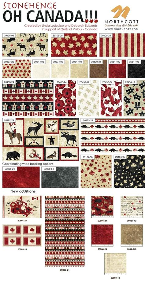 pattern fabric canada 234 best images about northcott sightings creations on
