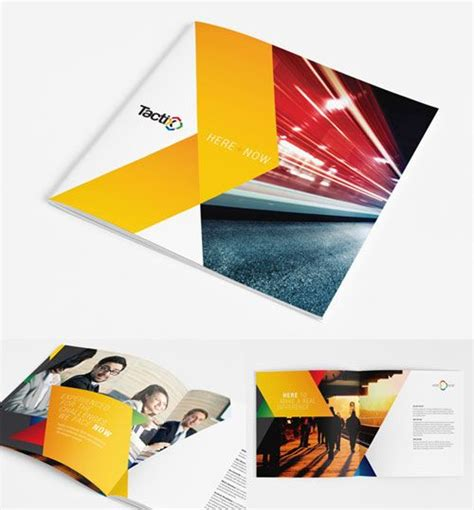 leaflet design creative 20 beautiful and creative brochure designs for inspiration