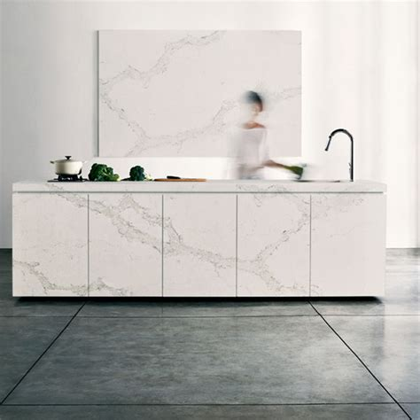 Decorating A Kitchen Island 5131 Calacatta Nuvo Modern Kitchen Los Angeles By