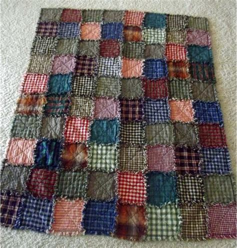 patchwork rag quilt creating a hug crafted