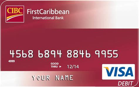 Debit Visa Gift Card - firstcaribbean international bank visa debit