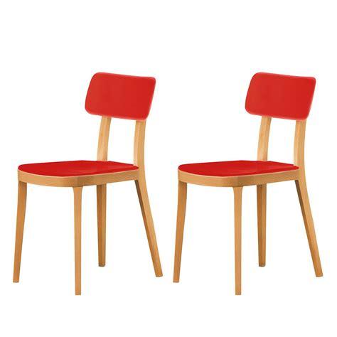 esszimmerstühle hohe lehne esszimmerstuhl porta venezia 2er set buche rot