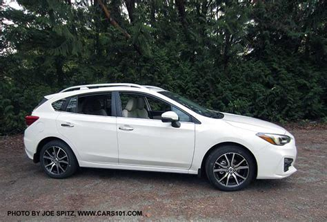 2017 subaru impreza hatchback white 2017 subaru impreza 5 door hatchback exterior photos page