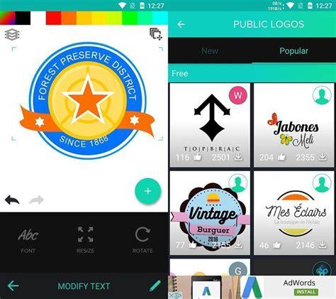graphic design logo maker cinco apps por el d 237 a del dise 241 o gr 225 fico