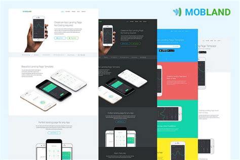 35 Best App Landing Page Templates 2018 Design Shack Mobile App Landing Page Template