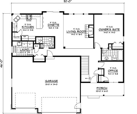 basic ranch floor plans weaubleau ranch home plan 091d 0395 house plans and more