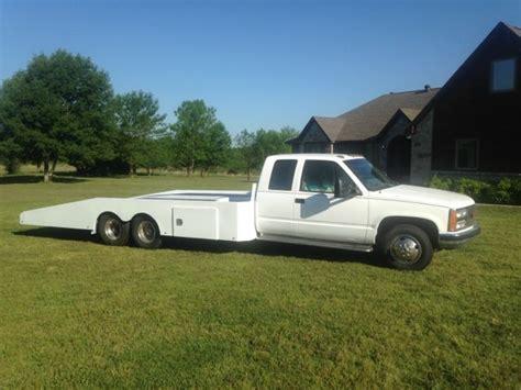 truck bed cer custom tandem dually car hauler brand new hodges bed