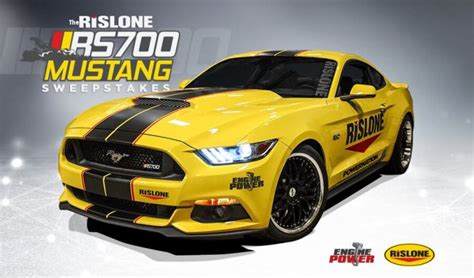 Mustang Giveaway - rislone rs700 mustang sweepstakes win the rislone mustang 5 0
