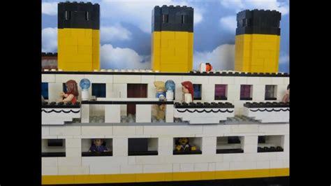 film titanic lego lego titanic movie part 2 youtube