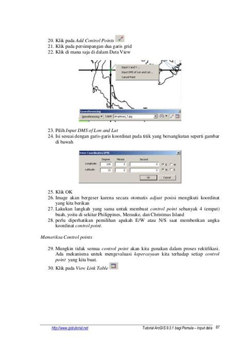 tutorial arcgis bagi pemula tutorial arcgis 931