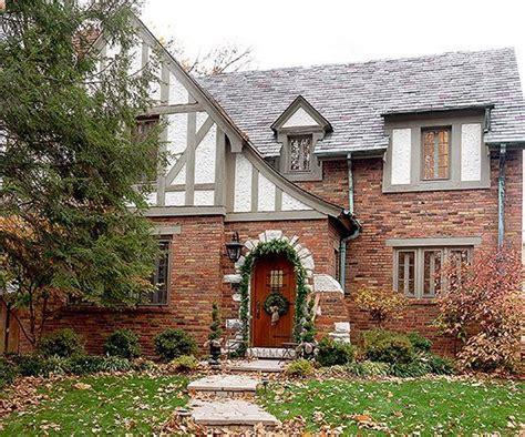 image result for color schemes for brick tudor homes kt