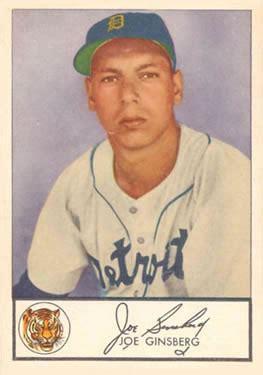joe ginsberg 1953 glendale hot dogs baseball gallery the trading