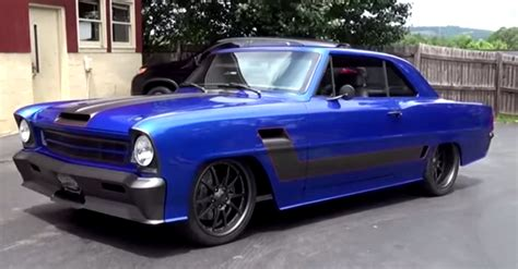 awesome 1966 chevrolet ii custom street machine american