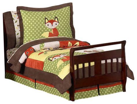 forest friends bedding forest friends 5 piece toddler bedding set by sweet jojo