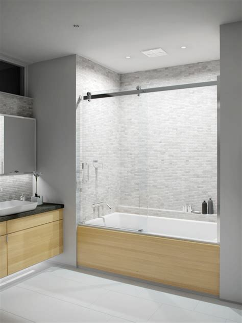 caml tomlin bathtub shower doors flow cpl408t