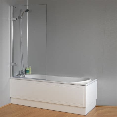 1800mm shower bath plexicor isede shower bath front panel and screen 1700mm