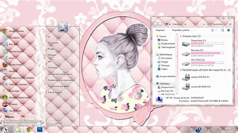 windows 8 themes girly pink theme for windows 7 by mllebarbie03 on deviantart