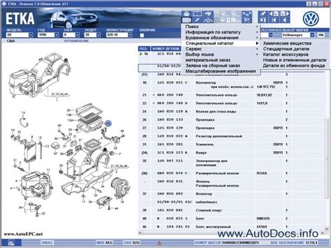 Etka Audi by Vw Parts Catalog Wiring Forums