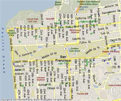san francisco bridges map golden gate bridge san francisco map