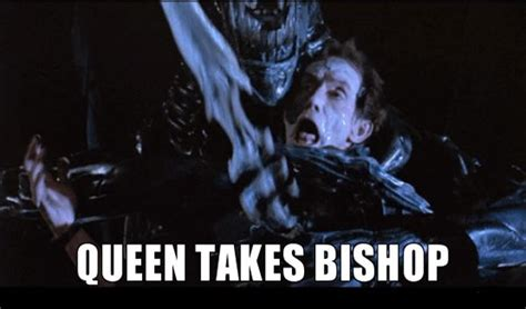 Aliens Meme - lol aliens bishop queen chess meme film pinterest