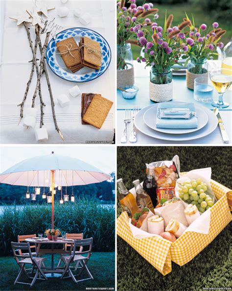 entertaining ideas outdoor entertaining ideas by martha stewart at home