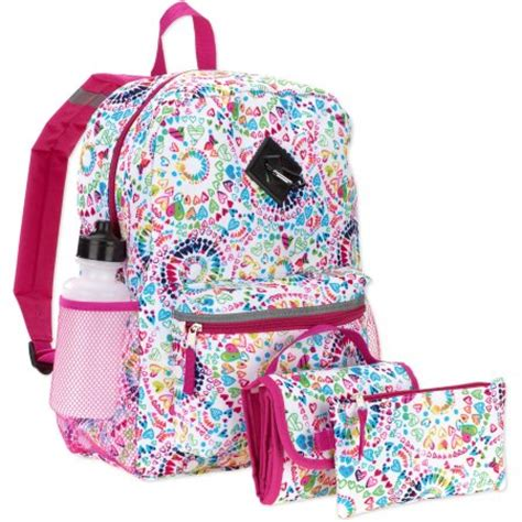 patterned 16 quot 5 in 1 backpack walmart
