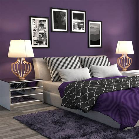 purple bedroom ideas 2018 10 ideas to use pantone s ultra violet 2018 color of the year at home the family handyman