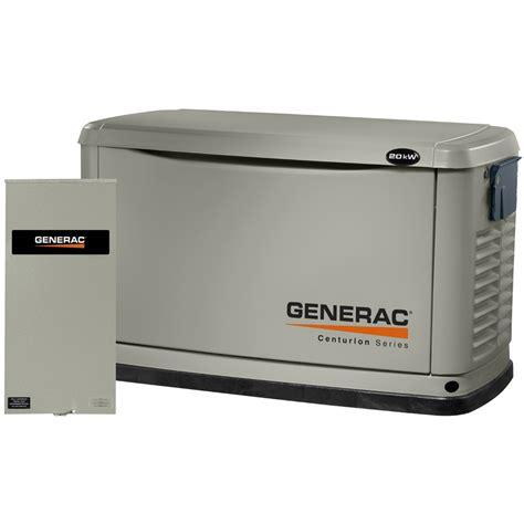 shop generac centurion 20 000 watt lp standby generator