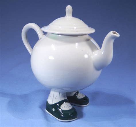 a two foot decision and a teapot a journey of miracles and angelic gifts books carlton ware novelty walking tea pot sold collectable china