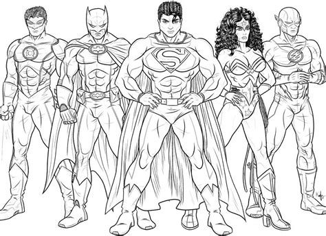 the flash coloring page az coloring pages