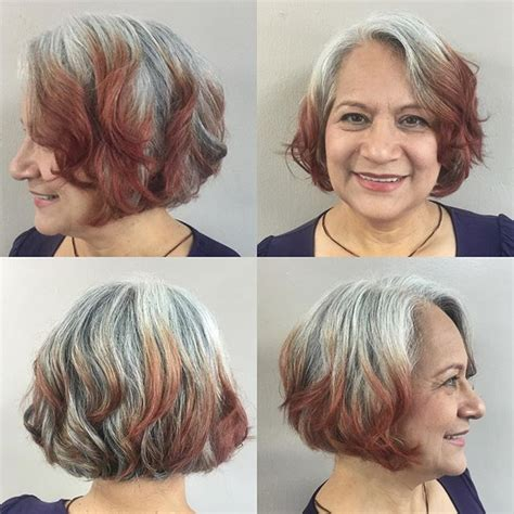layered bob hairstyles for 50s 21 cute layered bob hairstyles popular haircuts