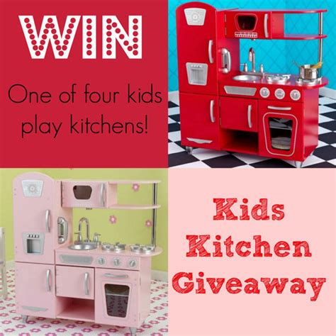 Giveaway Kitchen - win a kids play kitchen handmade kidshandmade kids