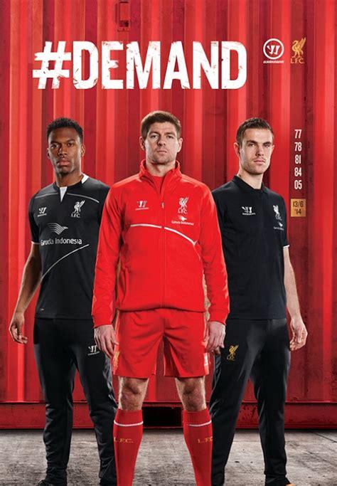Jersey Liverpool Garuda garuda indonesia hiasi jersey liverpool poster promo